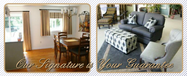 Our Signature is Your Guarantee | Project and staged room