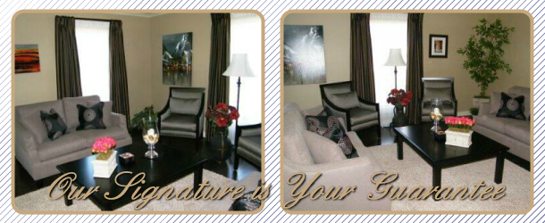 Our Signature is Your Guarantee | Living room
