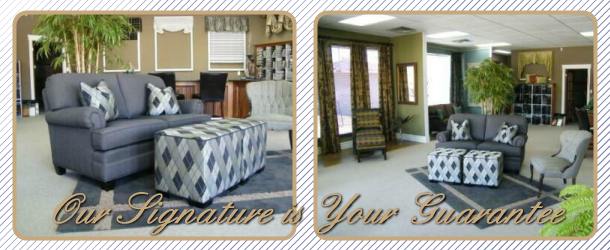 Our Signature is Your Guarantee | Staged rooms